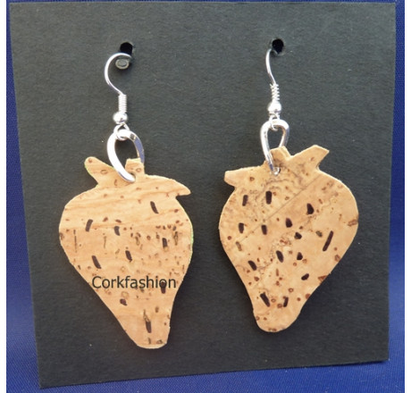 Earrings (LC-822 model 8) from the manufacturer Luisa Cork